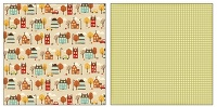 Cozy Home Weathervane patterned paper By October Afternoon