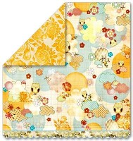 Piccadilly 12x12 Pocket Full of Rosies Paper By Sassafras Lass