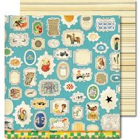 Wall Of Fame 12X12 Anthem Paper By Sassafras Lass