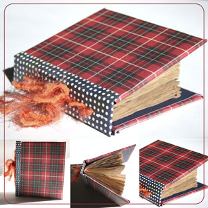 Hardbound Journal From Packaging Material