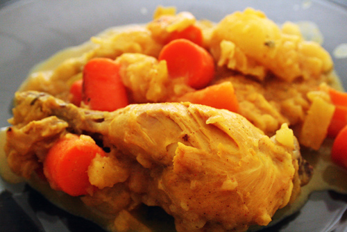 Chicken With Pineapple And Vegetables