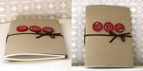 Notebook With Ribbon Binding