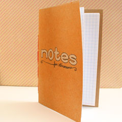 Simple Stitched Notebook