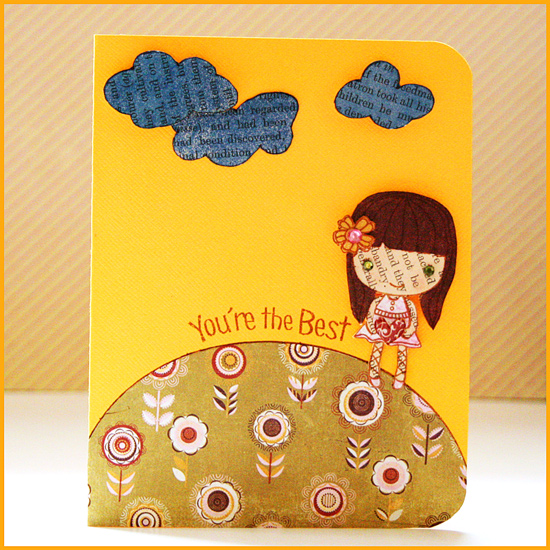 Paper Piecing Card