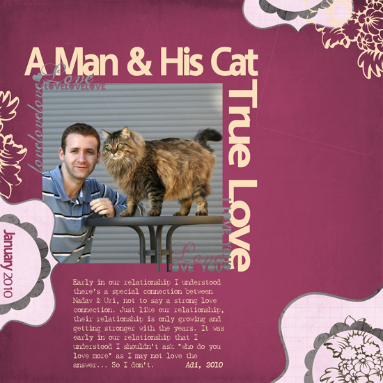 A Man and His Cat - True Love