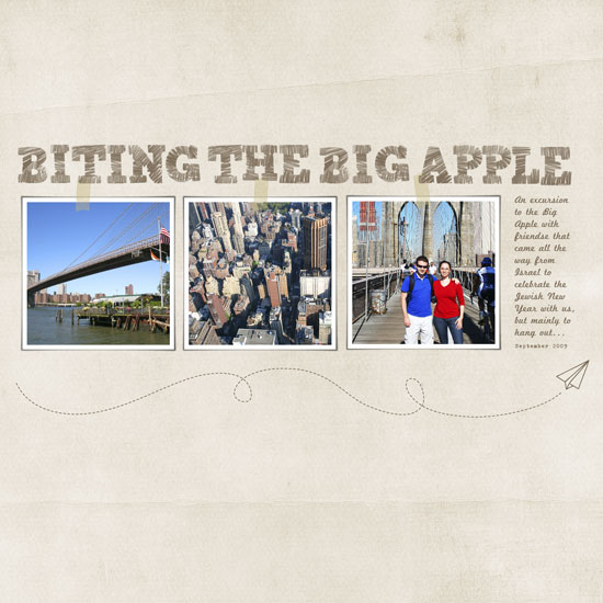 Biting the Bog Apple layout