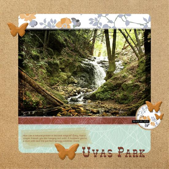 Uvas Park Layout