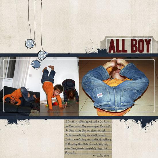 All Boy Layout