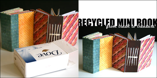 Recycled Mini Book