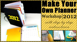 Make Your Own Planner 2012
