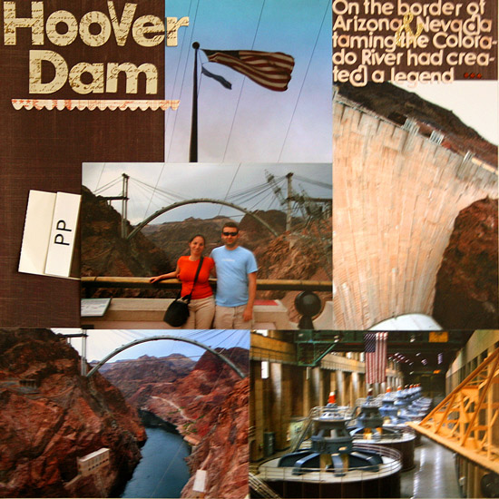 Hoover Dam Layout