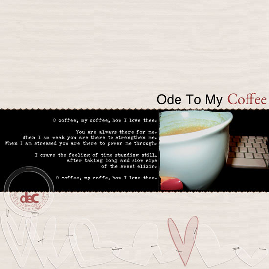 Ode To My Coffee