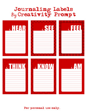 Free Journaling Labels