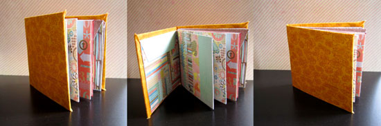 How To Make A Hardcover Mini Album With Plain Envelopes ...