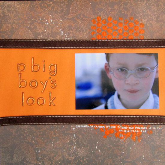 A Big Boy's Look