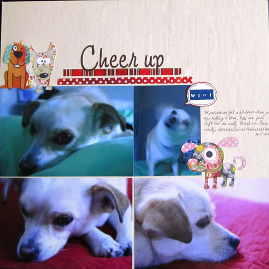 Cheer Up Layout