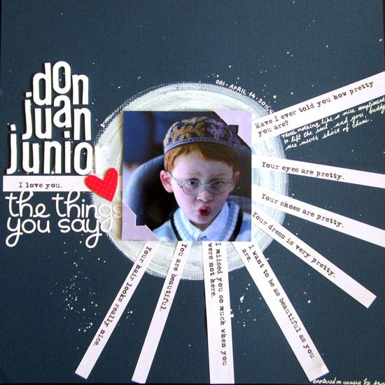 Don Juan Junior Layout
