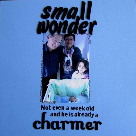 Small Wonder Layout