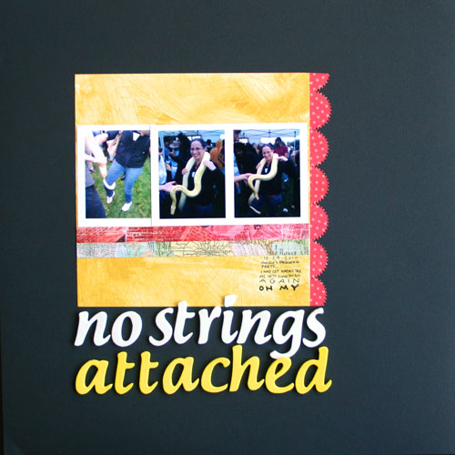 No Strings Attached Layout