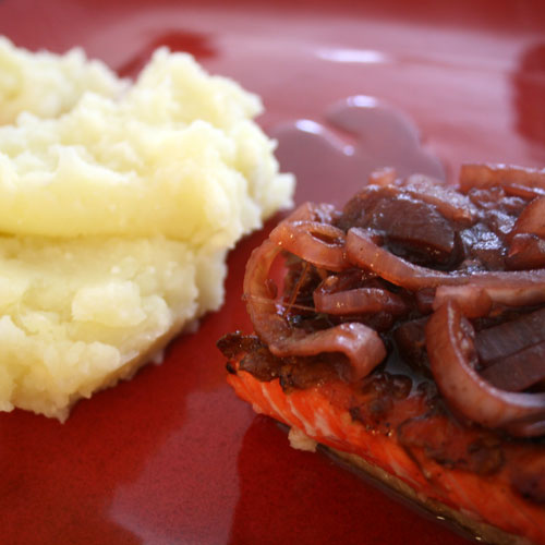 Sweet and Savory Salmon