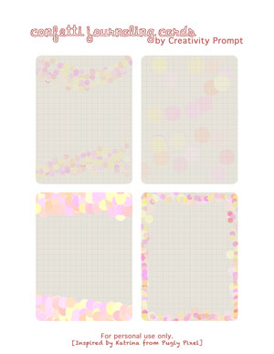 Free Journaling cards