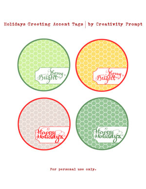 Free Journaling Tags