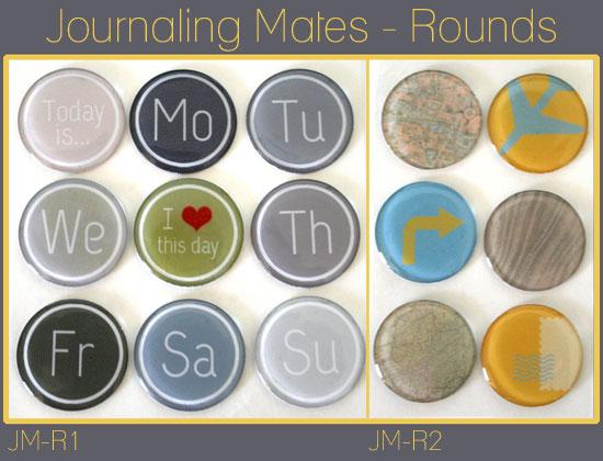 Round Journaling Mates