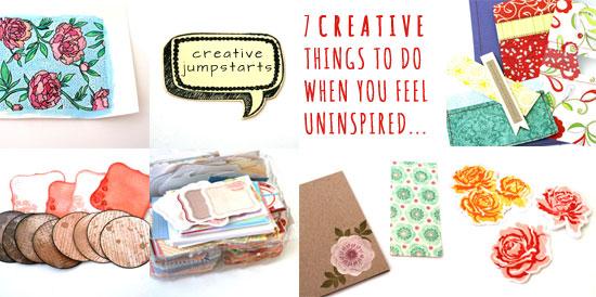 Seven Creative Jumpstarts