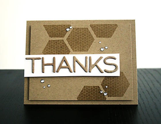 Thank You Card by Creativity Prompt